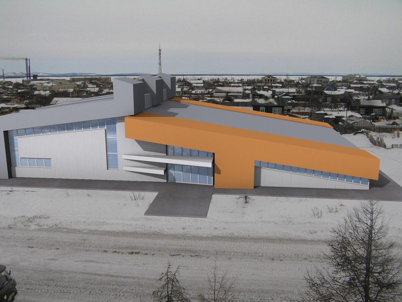 Спорт комплекс в Охотске