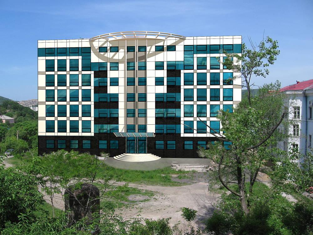 Административное здание по ул. Пирогова в г. Находка