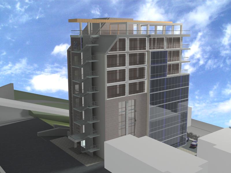 Административно-гостиничный комплекс по ул. Вс. Сибирцева в г. Владивостоке